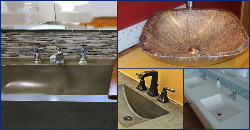 Superbe Sink Molds For Concrete Countertops